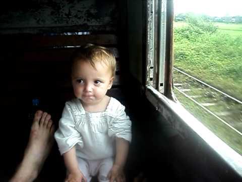 hadiya in ordinary class train, Myanmar