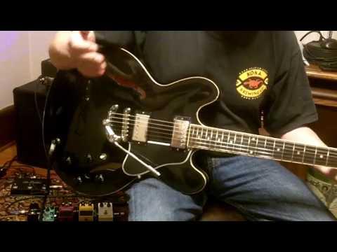 Duesenberg Les Trem Ii Gibson Es335 Es 335 Review Lestrem Youtube