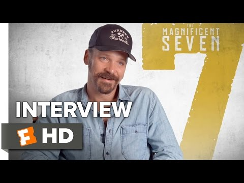 The Magnificent Seven Interview - Peter Sarsgaard (2016) - Western