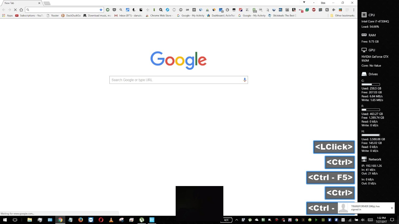 how to refresh a web page