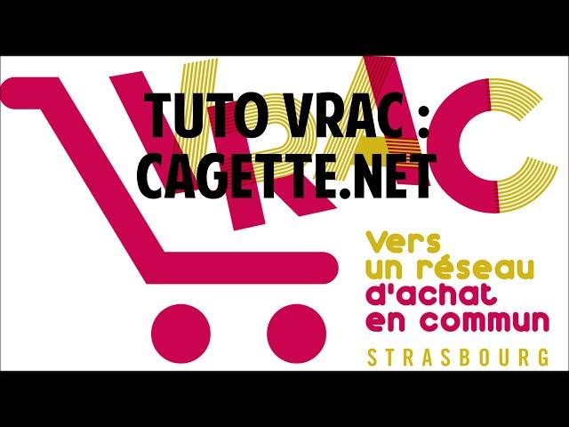Tuto VRAC : Cagette