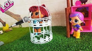 SING SONGS SAY! DOLL LOL SURPRISE came INTO the CELL TO the GRANNY( Cartoon doll LOL