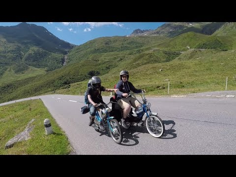 Töfflitour 2018 / Tessin, Graubünden / 400 km