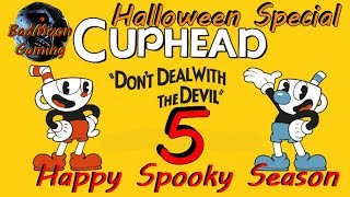 Cuphead: Not My Genie - Part 5 - WolfmanPedro & SuddenlySanna - Halloween Special