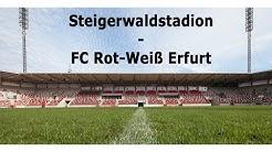 Umbau des Steigerwaldstadions in Zeitraffer | FC Rot-Weiß Erfurt