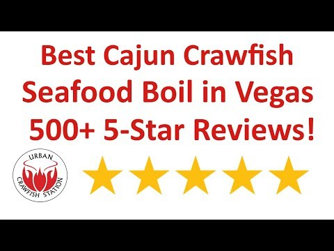 Best Seafood Boil Las Vegas⭐ Crawfish Las Vegas ⭐ Urban Crawfish Station