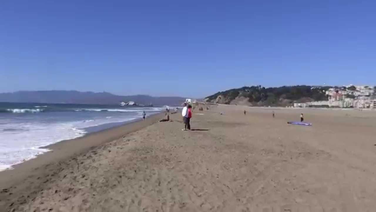 San Francisco California Ocean Beach Hd 2017