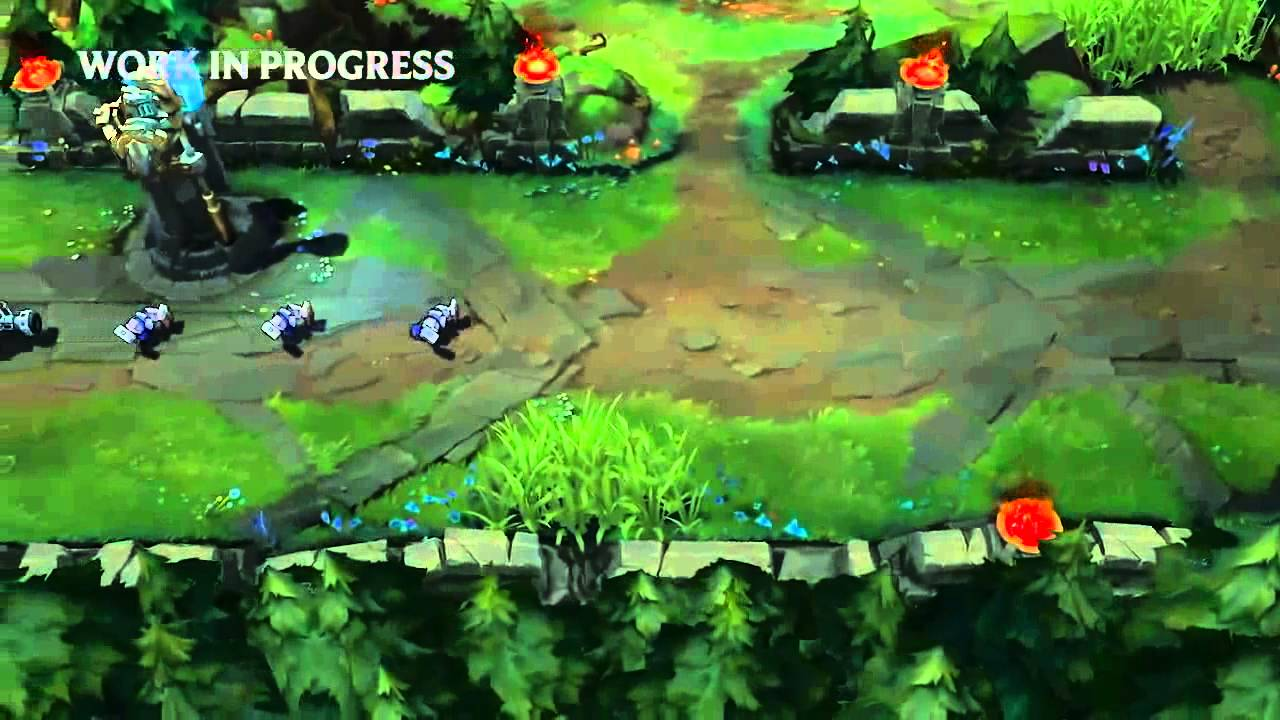 New Summoners Rift Map Visual Update Beta Gameplay League Of Legends Lol Youtube