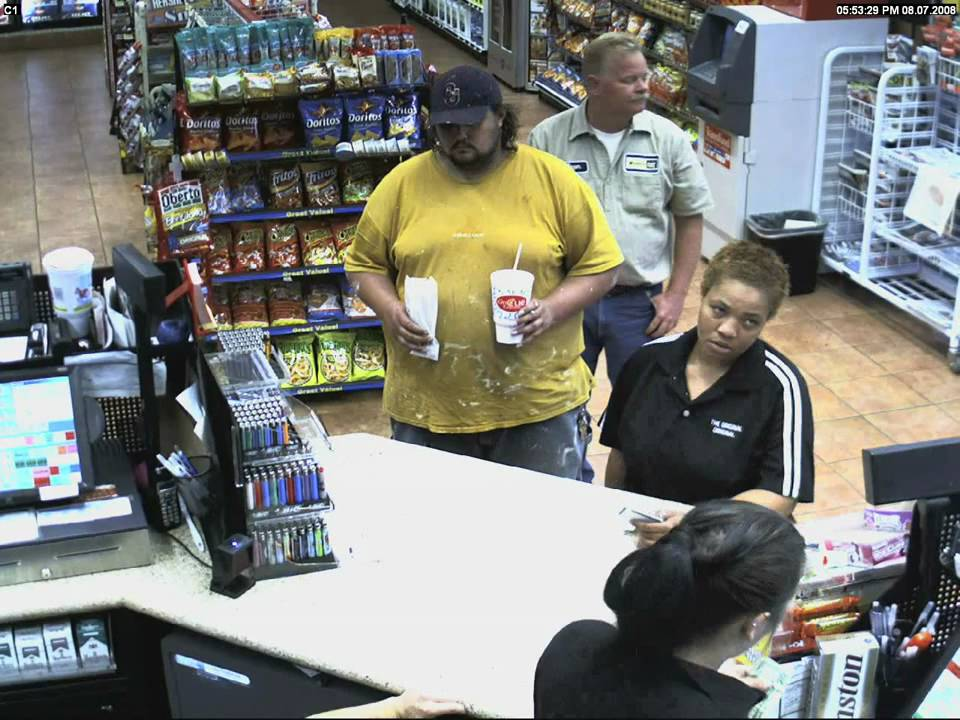 Sample Convenience Store Hd Security Camera Footage Youtube
