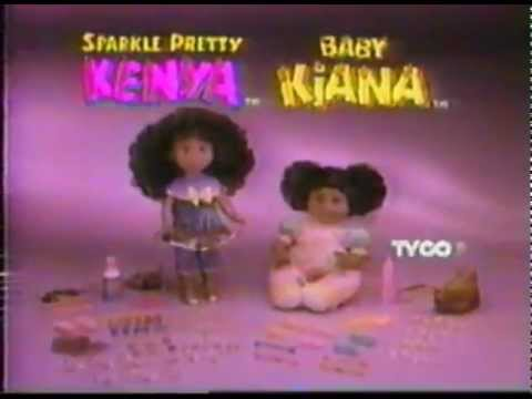 Kenya Amp Baby Kiana Baby Doll Commercial 1994 Youtube