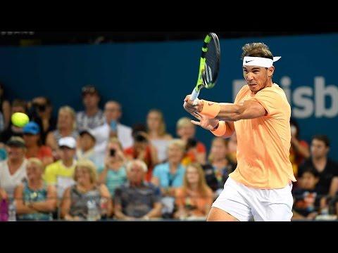 Rafael Nadal vs Mischa Zverev - Brisbane 2017 - Highlights HD
