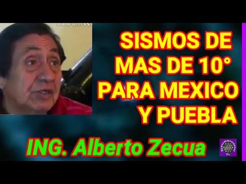 ALBERTO ZECUA habla del Mega terremoto para cd. Mexico,y sur de mexico nibiru y el Popocatépetl
