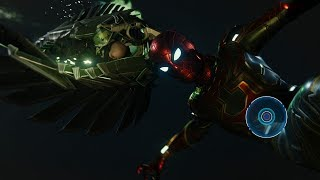 Spider-Man vs Vulture and Electro (Iron Spider Suit Walkthrough) - Marvel