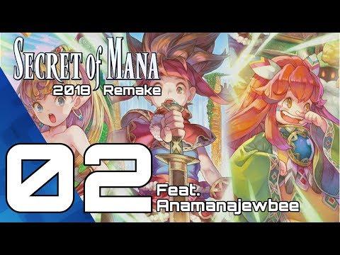SECRET OF MANA Playthrough 02! Remake PS4 Pro 2018