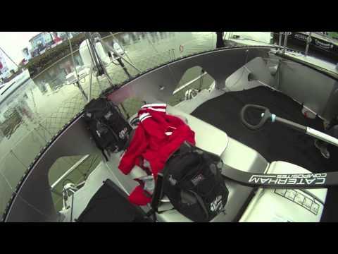 The Inside Tour of Alex Thomson's HUGO BOSS (Ex Veolia, Ex BT) At The 2012 Vendee Globe