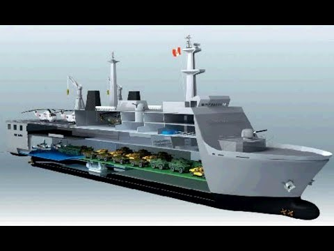 INDIAN Navy to buy 4 futuristic amphibious warship to bolster defence