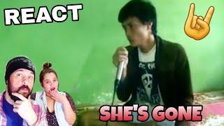 Download lagu VOCAL COACHES REACTS: DENS GONJALEZ - SHE'S GONE (STEELHEART COVER) MP3