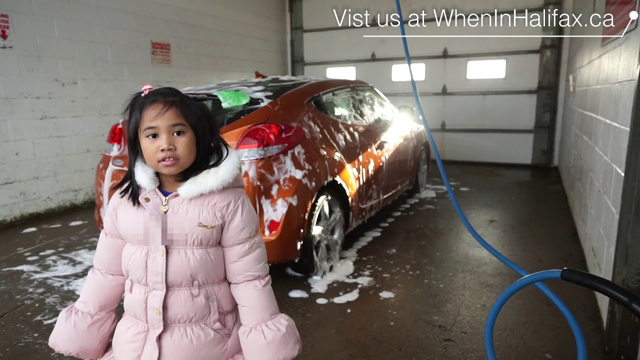 We Use The Self Service Car Wash Here In Halifax Pinoy