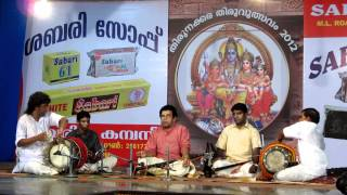 South Indian Drumming Duel
