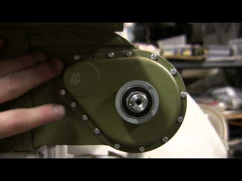 1/6th scale RC Armortek M4A4 sherman tank project video #4 (Final Drives and real hull details)