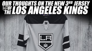 Our Thoughts on the Los Angeles Kings 3rd Jersey!