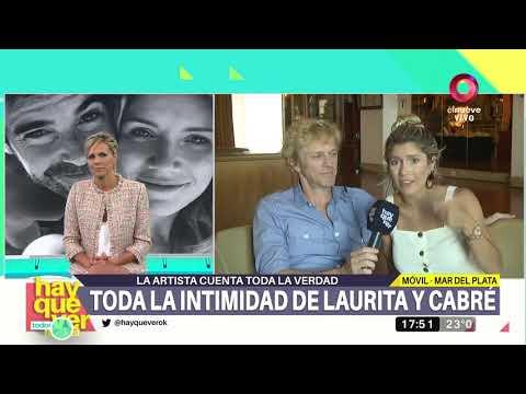 La intimidad de Laurita y Cabré