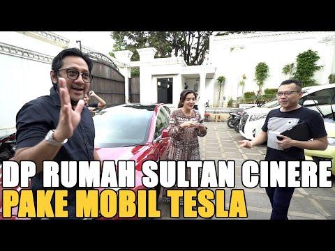Sultan Bintaro Dp Istana Cinere Pake Mobil Tesla.. Raffi Ahmad Kalah Telak