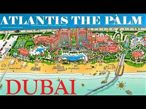 [4K] Atlantis the Palm, Buggy Ride Around the Atlantis Hotel  Aquaventure Aquapark&Royal Beach Dubai