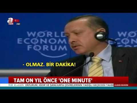 Başkan Erdoğan'ın Davos'taki 'one minute' çıkışının 10. Yılı!.