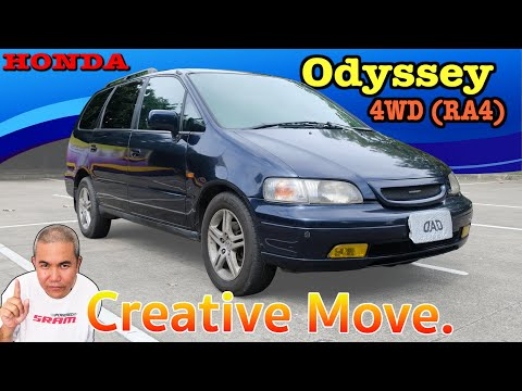 รีวิว รถมือสอง Honda Odyssey 4WD ของแรร์ สายครอบครัว สายซิ่ง สายแค้มปิ้ง ไม่ควรพลาด