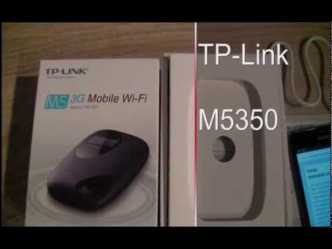 Mobiler WLAN-Router - TP-Link M5350 from YouTube · Duration:  10 minutes 4 seconds