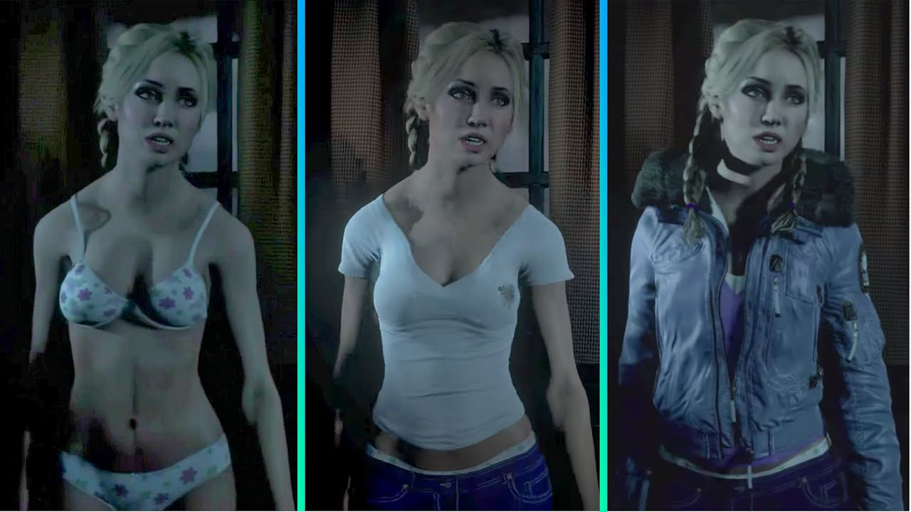How To Fully Undress Jess Until Dawn Youtube