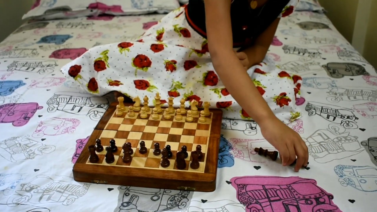 4-Year Kid Learning Chess-Chess For Beginners: Lesson-1:Chess Coins Identification And Arrangement