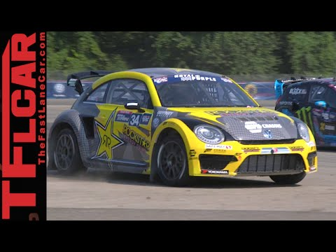 Ride along with Tanner Foust & his 600 Horsepower GRC AWD Beetle