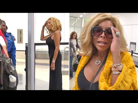 Wendy Williams' Bling Sets Off TSA Alarm And She Gets The Pat Down!