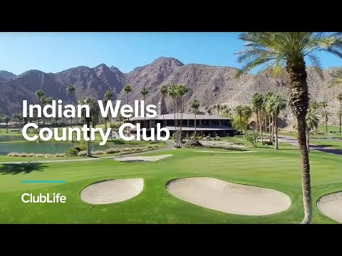 Indian Wells Country Club Aerial View