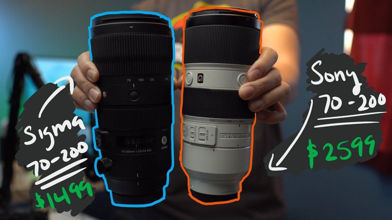 A Cheaper Sony Alternative? Sigma 70-200 F2.8 Sport Lens