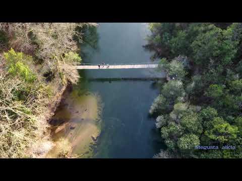 Ruta desde el Puente medieval de Comboa hasta el Colgante de #Soutomaior