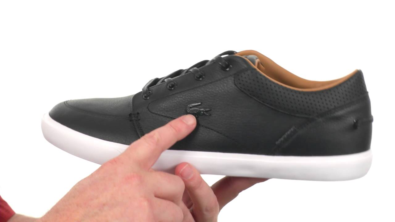 86c8dd088200 Lacoste Bayliss Vulc Prm SKU 8552994 - YouTube