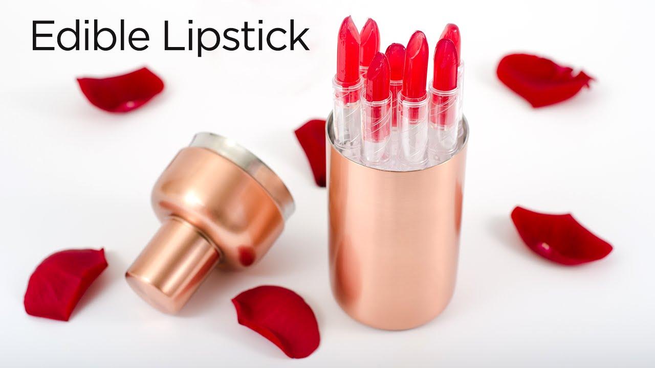 How to Make Edible Lipstick - YouTube