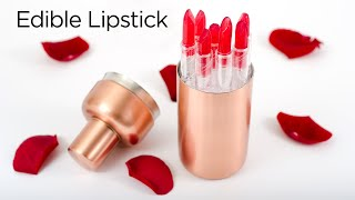 How to Make Edible Lipstick
