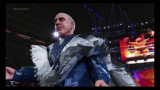 WWE 2k19 undisputed era vs evolution 4 on 4 elimination match
