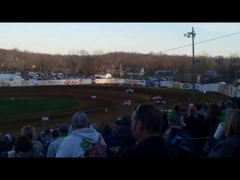 MSCS Sprint Car Heat 1 Lincoln Park Speedway