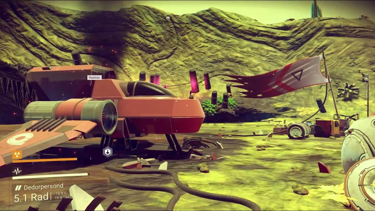 No Man S Sky A Space Exploration Game Youtube