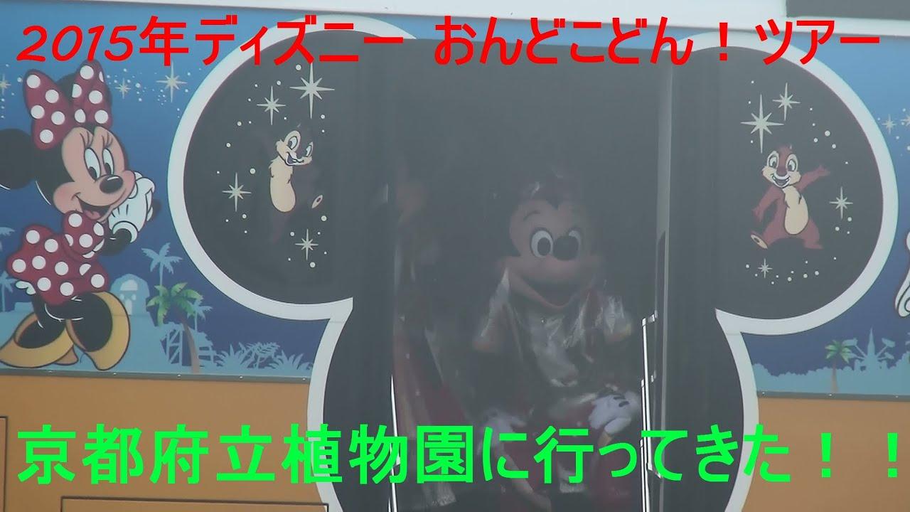 ☆ ディズニー おんどこどん!ツアー 2015年4月19日 京都府立植物園