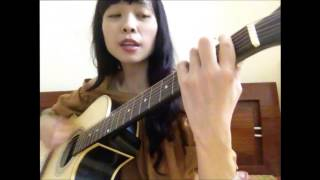 Âm thầm bên em   Sơn Tùng MTP   Cover guitar by Thúy An MiMi