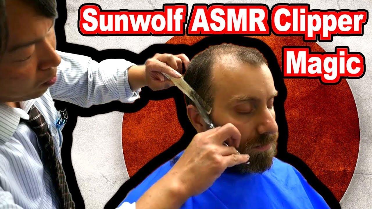 Bonus Sunwolf ASMR Barber Video - Just the neck.