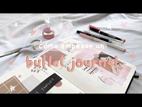 cómo empezar un bullet journal / bullet journal para principiantes