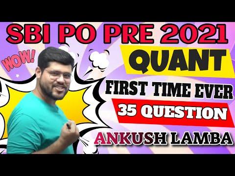 SBI PO MOCK ANALYSIS COMPLETE QUANT 35 QUESTION    ANKUSH LAMBA    BANKING CHRONICLE