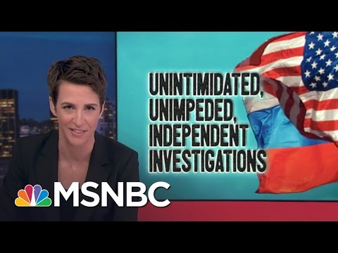 Financial Crimes Unit To Help Donald Trump-Russia Investigation | Rachel Maddow | MSNBC
